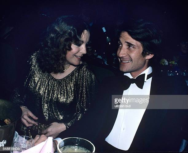 Romy Schneider and her husband Daniel Biasini