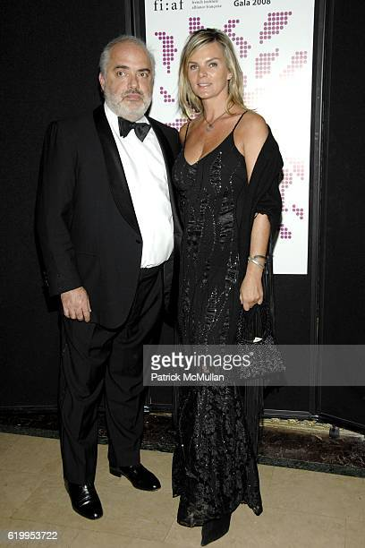 Ron Agam and Cecilia Rodhe attend TROPHEE des ARTS FIAF 2008 Gala Honoring PHILIPPE de MONTEBELLO and JEANBERNARD LEVY at Plaza Hotel on October 29...