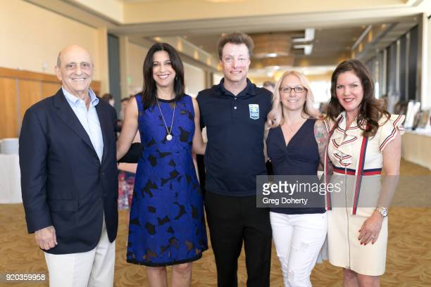 Ron and Dana Katz Joey Paul Michelle Asker and Thalians President Actress Kira Reed Lorsch attend The Thalians Hollywood for Mental Health Presidents...
