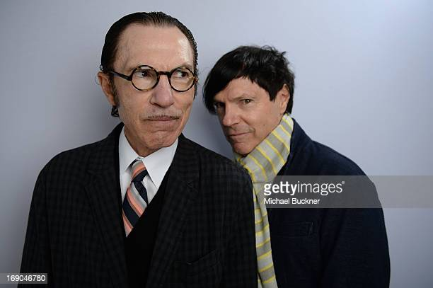 Ron and Russell Mael pose for a portrait at the Variety Studio at Chivas House on May 19, 2013 in Cannes, France.