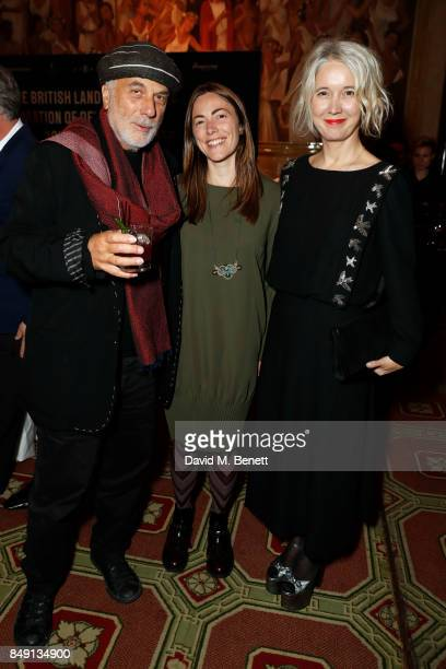 Ron Arad Shonagh Manson and Deputy Mayor Culture and the Creative Industries Justine Simons OBE attends London Design Festival's British Land...