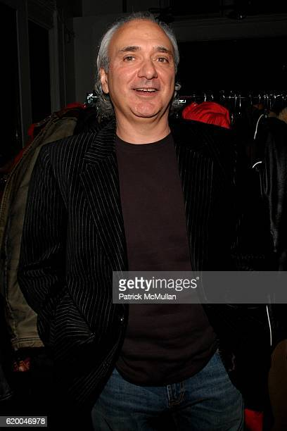 Ron Argento attends KolDesign and BoConcept's annual Holiday party at BoConcept on December 16 2008 in New York City