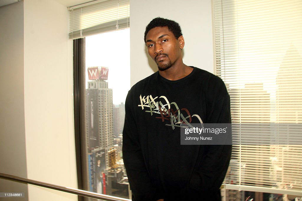Ron Artest Visits Sirius Satellite Radio - June 14, 2006