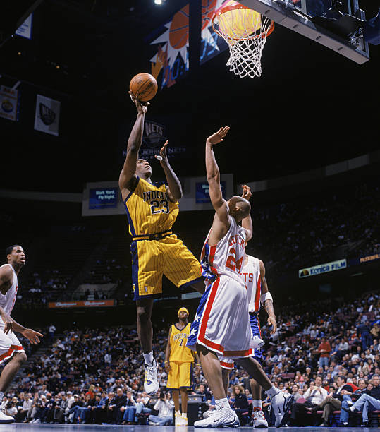 newest collection 87cae efb9c Indiana Pacers v New Jersey Nets Photos and Images | Getty ...