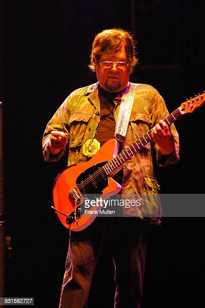 Ron Asheton of Iggy and the Stooges during Voodoo Music Experience 2003 Day Two at City Park in New Orleans Louisiana United States