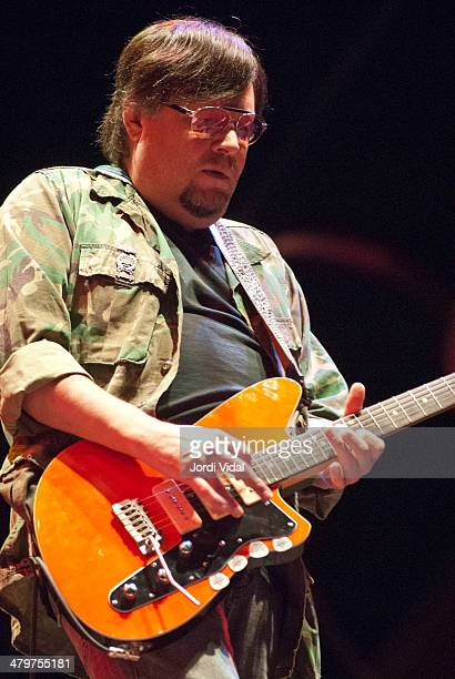 Ron Asheton of Iggy Pop and The Stooges performs on stage on Day 1 of Azkena Rock Festival 2006 at Recinto Mendizabala on August 31 2006 in...
