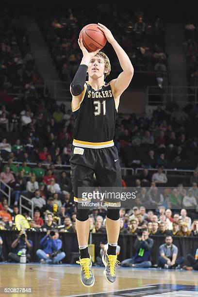 Ron Baker of the Wichita State Shockers takes a foul shot during a first round NCAA College Basketball Tournament game against the Arizona Wildcats...