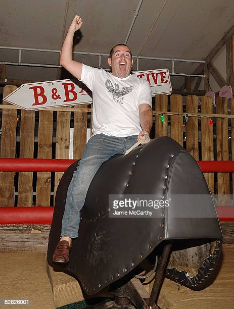 Ron Berkowitz attends the grand opening of Brother Jimmy's BBQ at the El San Juan Hotel and Casino on August 30 2008 in San Juan Puerto Rico