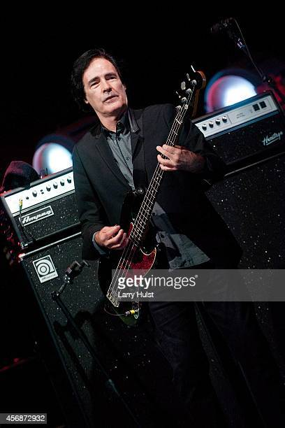 Ron Blair performing with Tom Petty and the Heartbreakers in support of their newest album release 'Hypnotic Eye' at Red Rocks Amphitheatre in...