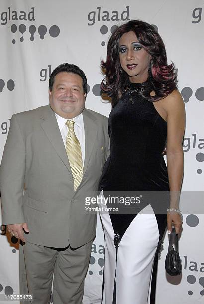 Ron Brenesky and Mari Trini during 18TH ANNUAL GLAAD MEDIA AWARDS Miami at JW Marriott in Miami Florida United States