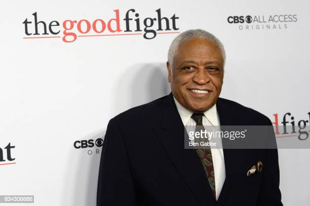 Ron Canada attends The Good Fight World Premiere at Jazz at Lincoln Center on February 8 2017 in New York City