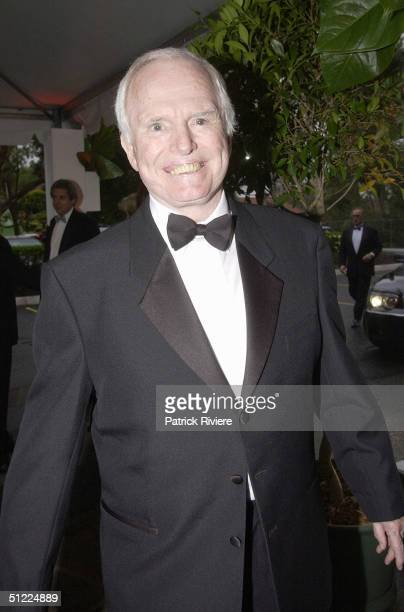 Ron Cassey at the Channel Nine predrinks party for Brian Henderson 'Toasted and Roasted' Special farwell after 46 years in TV in Sydney
