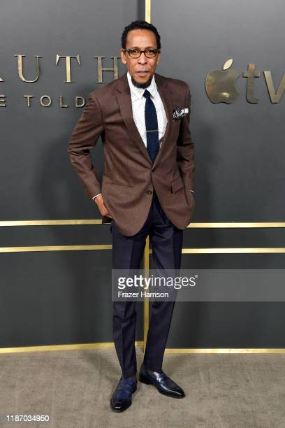 Ron Cephas Jones attends the Premiere of Apple TV's Truth Be Told at AMPAS Samuel Goldwyn Theater on November 11 2019 in Beverly Hills California