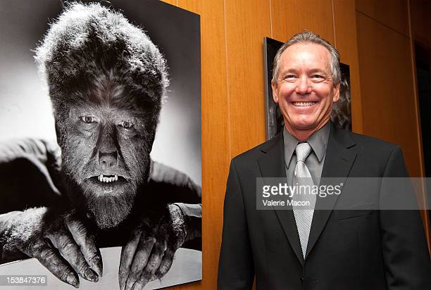Ron Cheney attends The Academy of Motion Picture Arts and Sciences' screening of 'The Wolf Man' and 'An American Werewolf In London' at AMPAS Samuel...