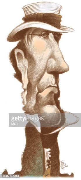 ron coddington caricature of us president andrew jackson