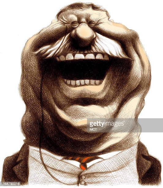 Ron Coddington caricature of US president Theodore Roosevelt by Ron Coddington