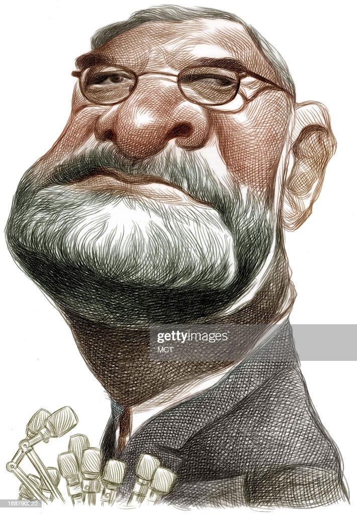 CARICATURE: William Ginsburg : News Photo