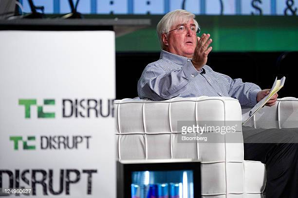 Ron Conway, founder and managing partner of the Angel Investors LP funds, speaks at the TechCrunch Disrupt SF 2011 conference in San Francisco,...