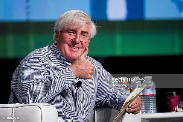 Ron Conway, founder and managing partner of the Angel Investors LP funds, speaks at the TechCrunch Disrupt SF 2011 in San Francisco, California,...