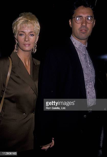 """Ron Darling and wife Antoinette O'Reilly attend the premiere of """"Enemies - A Love Story"""" on December 11, 1989 at the Crystal Pavilion in New York..."""