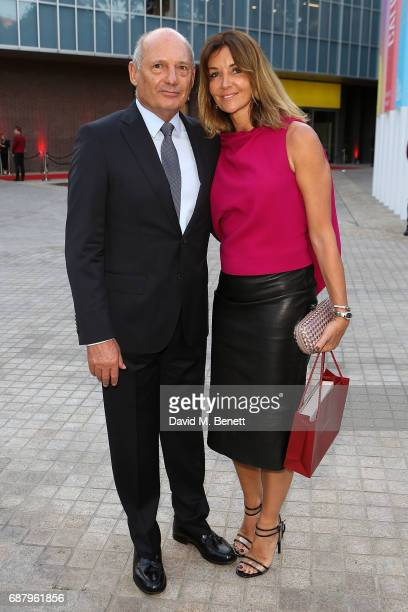 Ron Dennis attends the private view of the 'Cartier In Motion' exhibition curated by Norman Foster at The Design Museum on May 24 2017 in London...