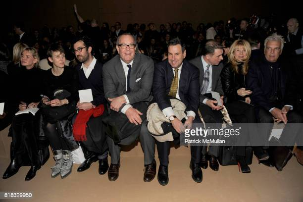 Ron Frasch Steve Sadove Joseph Boitano Terron Schaefer and Front Row attend MARC JACOBS Fall 2010 Collection at NY State Armory on February 15 2010...