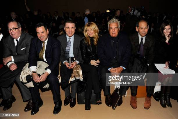 Ron Frasch Steve Sadove Terron Schaefer and Front Row attend MARC JACOBS Fall 2010 Collection at NY State Armory on February 15 2010 in New York City