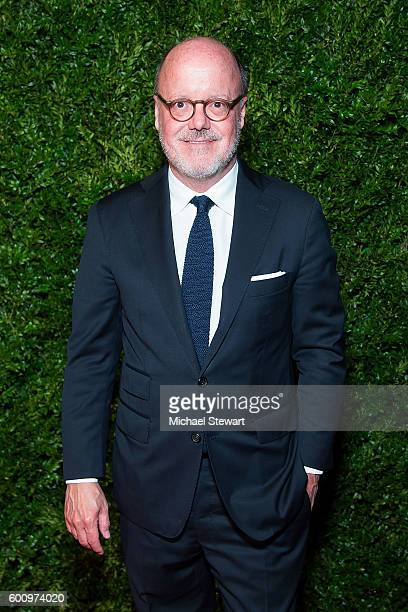 Ron Fresh attends the Saks Downtown x Vogue event at Saks Downtown on September 8 2016 in New York City