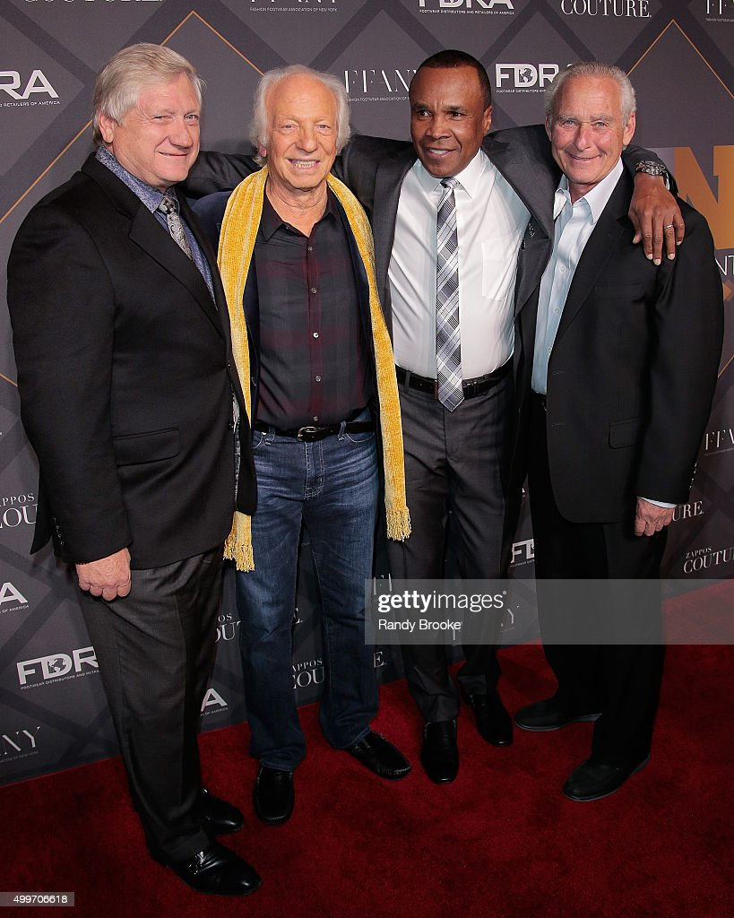 Ron Fromm,Robert Greenberg Sugar Ray Leonard and David Weinberg attend the 29th FN Achievement Awards at IAC Headquarters on December 2, 2015 in New York City.