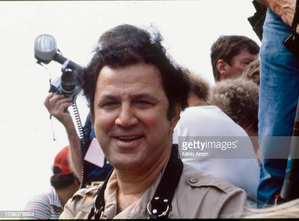 Ron Galella, American paparazzo extraordinaire, known for his aggressive and obsessive treatment of Jacqueline Onassis Kennedy, photographs...