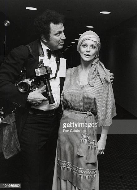 Ron Galella and AnnMargret during Gala Neil Simon Salute at New Terrance Theatre in Long Beach California United States