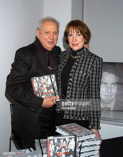 Ron Galella and Betty Galella during Ron Galella Book Signing for Ron Galella Exclusive Diary at Ron Galella Collection via Getty Images Studio at...