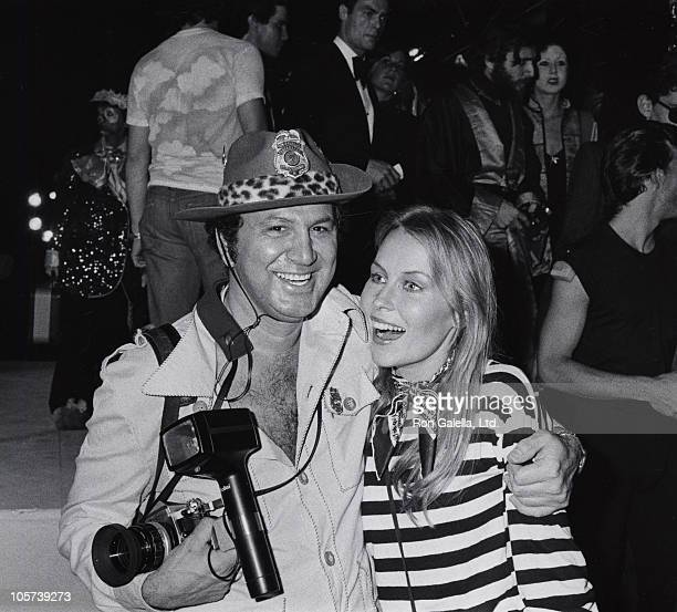Ron Galella and Cornelia Sharpe during Magic Fantasy and Dreams Costume Ball October 25 1975 at 68th Street Armory New York City in New York City New...