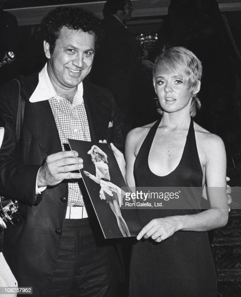 Ron Galella and Joey Heatherton during Tracey and Hepburn Book and Film Festival Opening at the Lincoln Center Library at Lincoln Center Library in...