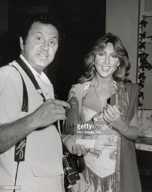 Ron Galella and Linda Thompson during Kenny Rogers After Party at Beverly Hills Hotel in Beverly Hills California United States