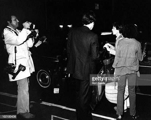 Ron Galella and Mick Jagger