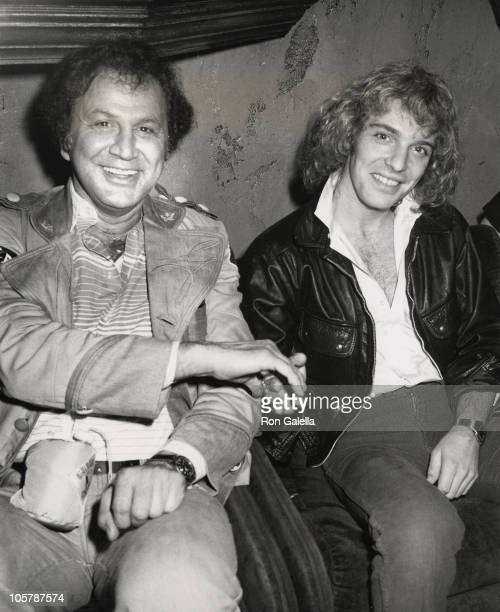 Ron Galella and Peter Frampton during Alice Cooper's After Concert Party April 1 1979 at Carlos Charlie's Restaurant in Los Angeles California United...