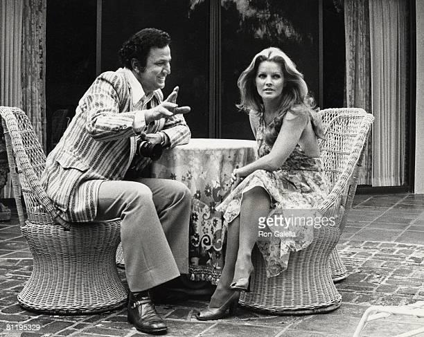 Ron Galella and Priscilla Presley