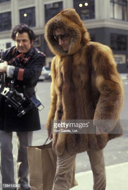 Ron Galella and Rod Stewart sighted on January 10 1979 at the Carlyle Hotel in New York City