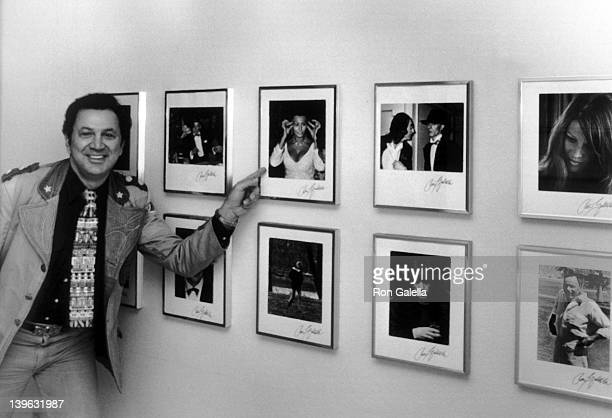 Ron Galella attends Ron Galella Photography Exhibition on March 1 1991 in Los Angeles California