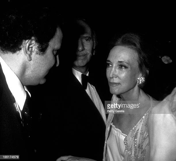 Ron Galella David Brown and Helen Gurley Brown attend the opening of Andy Warhol Exhibit on November 20 1979 at the Whitney Museum in New York City