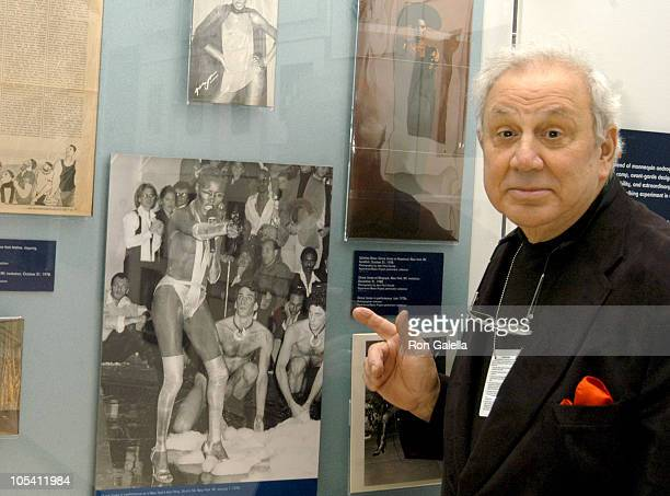 Ron Galella during Exhibition of DISCO A Decade of Saturday Nights at Donald and Mary Oenslager Gallery in New York City New York United States