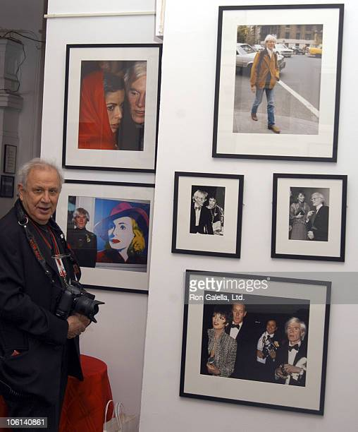 Ron Galella during Factory Craze A Week of Warhol Exhibit Opening February 19 2007 at The Gershwin Hotel in New York New York United States