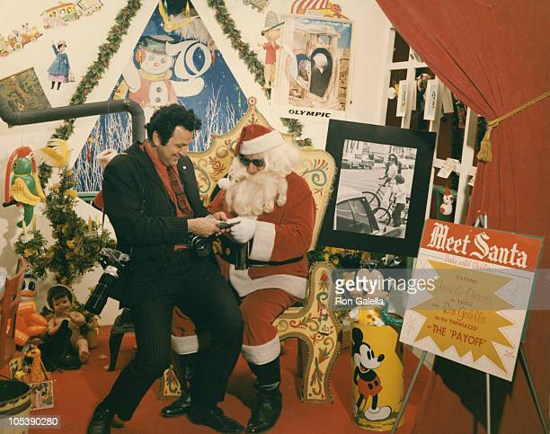 Ron Galella during Ron Galella at Santa's Concession December 1 1970 at Klein Department Store in Wayne New Jersey United States