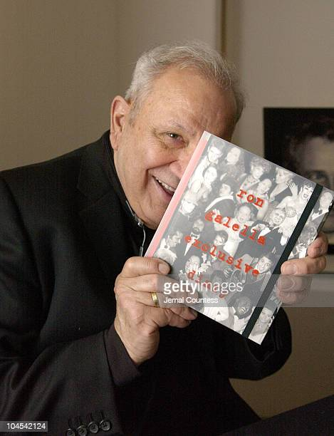 Ron Galella during Ron Galella Book Signing for Ron Galella Exclusive Diary at WireImage Studio at WireImage Studio in New York City New York United...