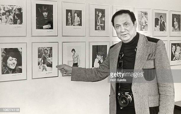 Ron Galella during Ron Galella Showing His Photographs at his Westchester Home January 15 1976 at Galella's Westchester NY Home in Westchester New...