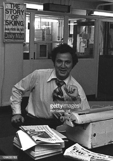 Ron Galella during Ron Galella Sighting at London's Daily Mail Newsroom September 30 1976 at Daily Mail Newsroom in London United States