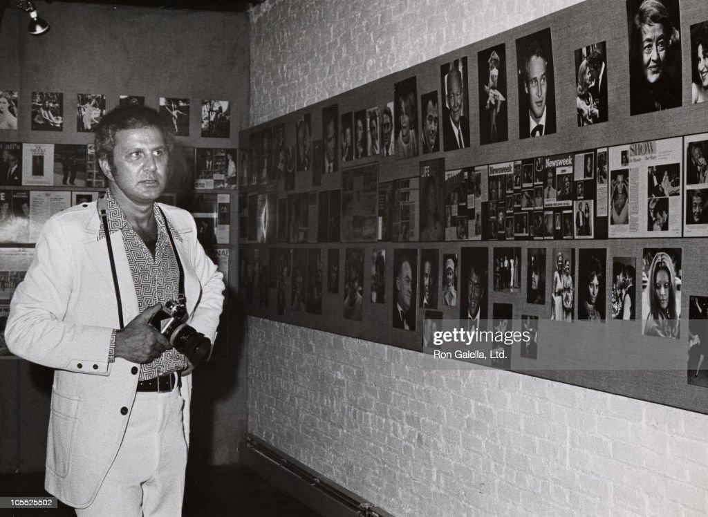 Ron Galella Soho Photo Gallery Exhibition - September 4, 1974 : News Photo