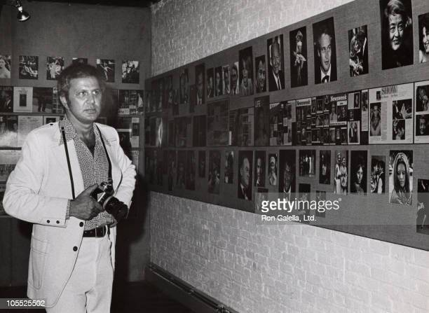 Ron Galella during Ron Galella Soho Photo Gallery Exhibition September 4 1974 at Soho Photo Gallery in New York City New York United States