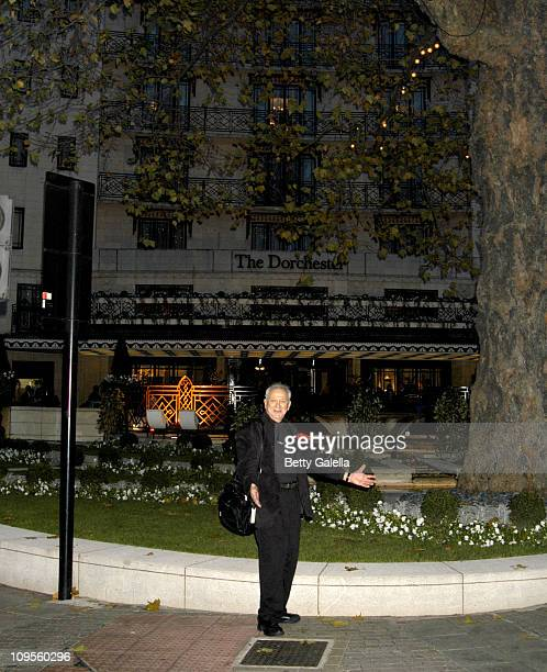 Ron Galella during Ron Galella Tours London England December 5 2004 at London Hilton in London Great Britain